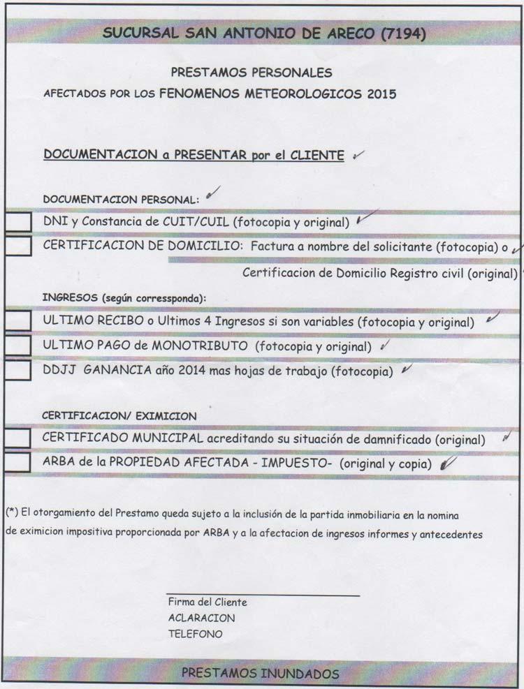 Requisitos Prestamos Banco Provincia Neuquen Prestamos