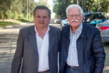 Eduardo Silva y Aldo Pignanelli