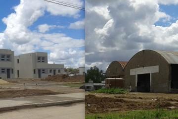 Construcción de viviendas en el Corralón Municipal