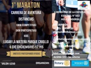 """1º Maratón a beneficio de """"La Manuela"""""""
