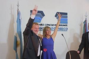 Nicolás Marinkovic y Alejandra Acuña - (Foto oficial)
