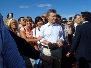 Mauricio Macri en Parada Robles