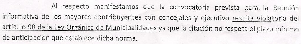 Parrafo CARTA HCD