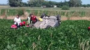 Accidente fatal en San Andrés de Giles