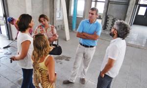 Avances en la construcción del Jardín Municipal del Barrio Municipal