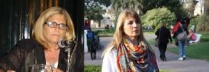 Concejales Viviana Bratschi y Estela Lennon