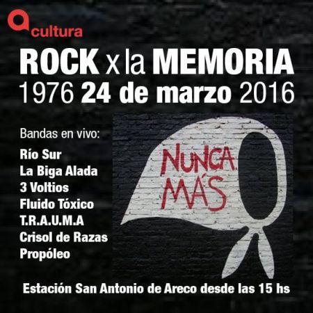 rock por la memoria