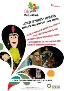 Entrega de premios Carnavales 2016
