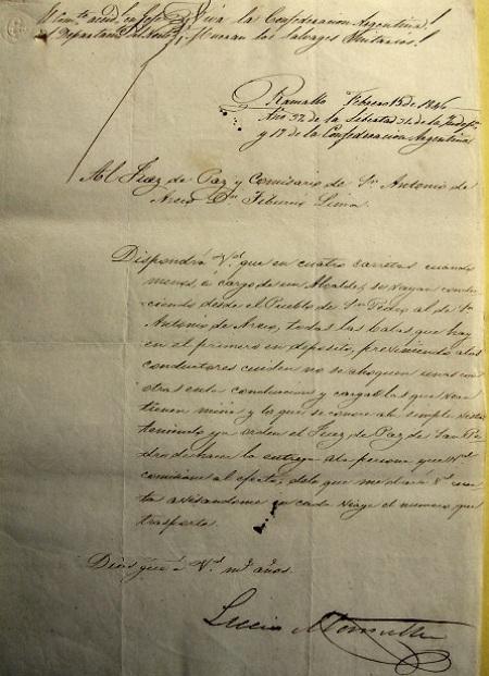 Intercambio de documentos históricos entre San Pedro y San Antonio de Areco