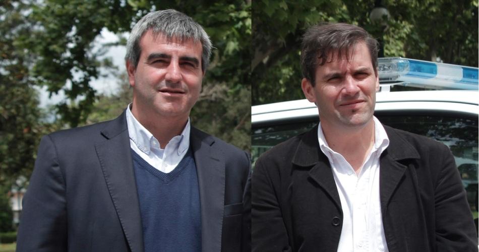 Francisco Durañona y Martín Lobos