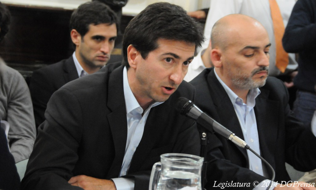 Ministro de infraestructura de la provincia, Edgardo Cenzón