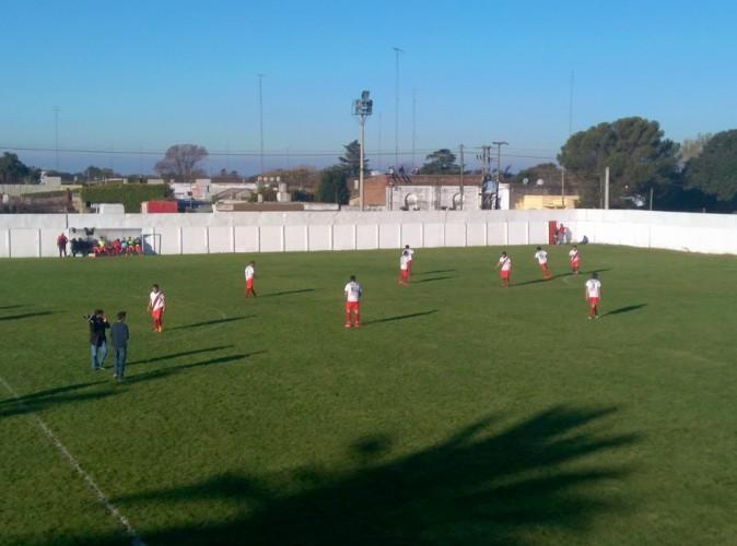 Estadio Enrique Fitte - River vs. Rivadavia. Foto: facebook