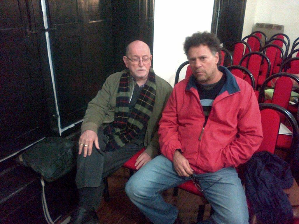 Izquierda: Claudio Liberman - Audiencia pública HCD