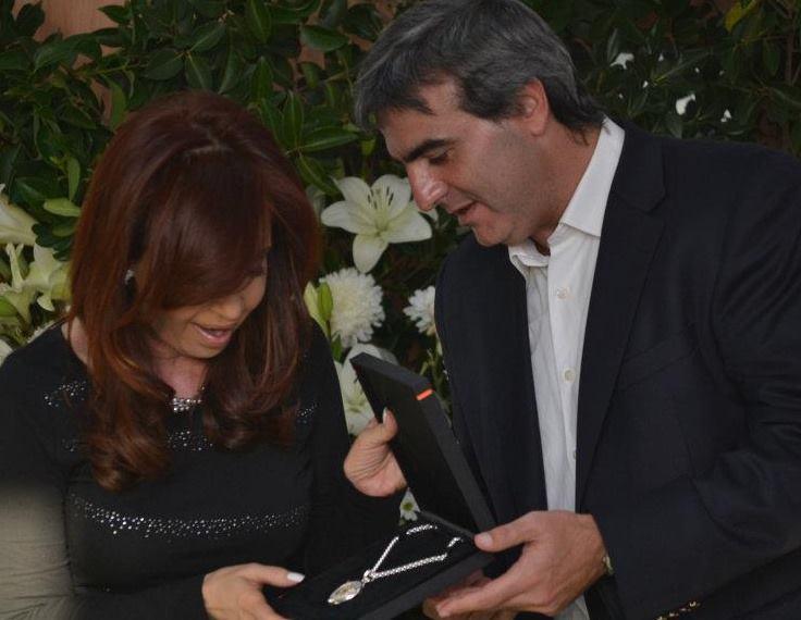 Cristina Fernández y Francisco Durañona