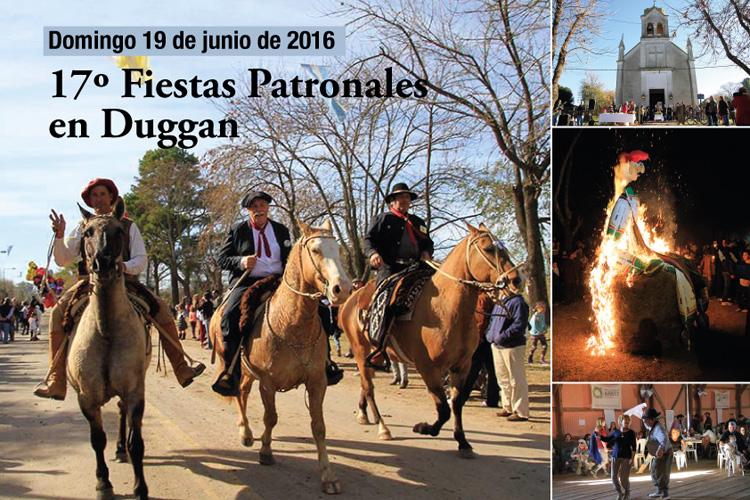 Festejos Patronales en Duggan