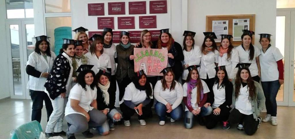 Nuevas enfermeras en Areco