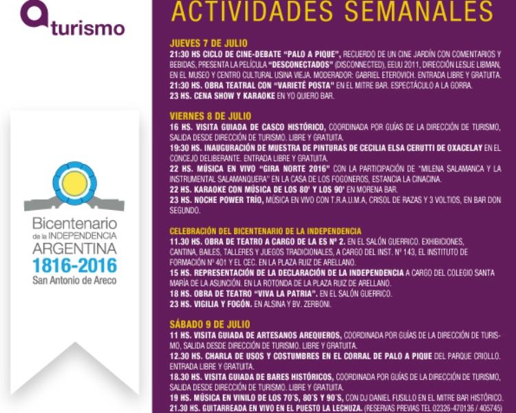 Actividades del Bicentenario