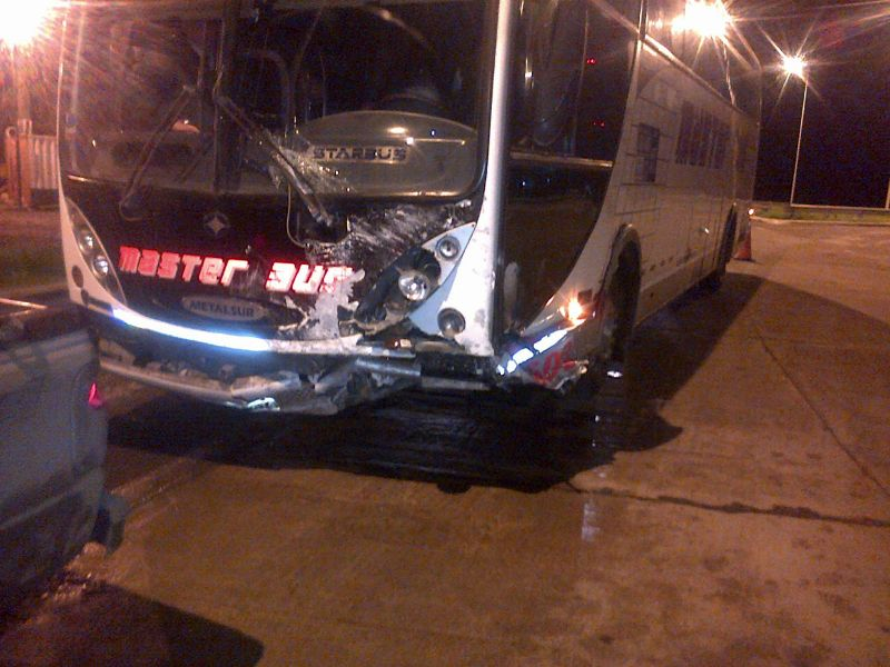 Accidente en Ruta 8 Km 109