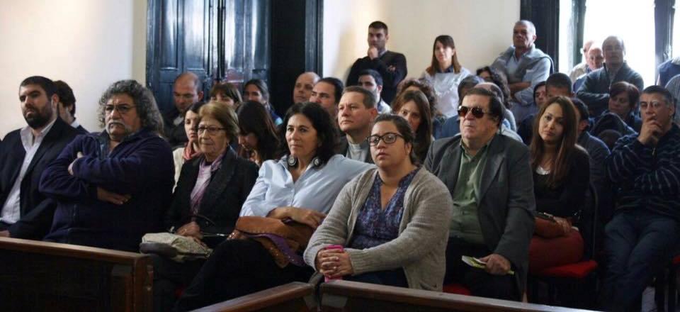 Público presente en el HCD