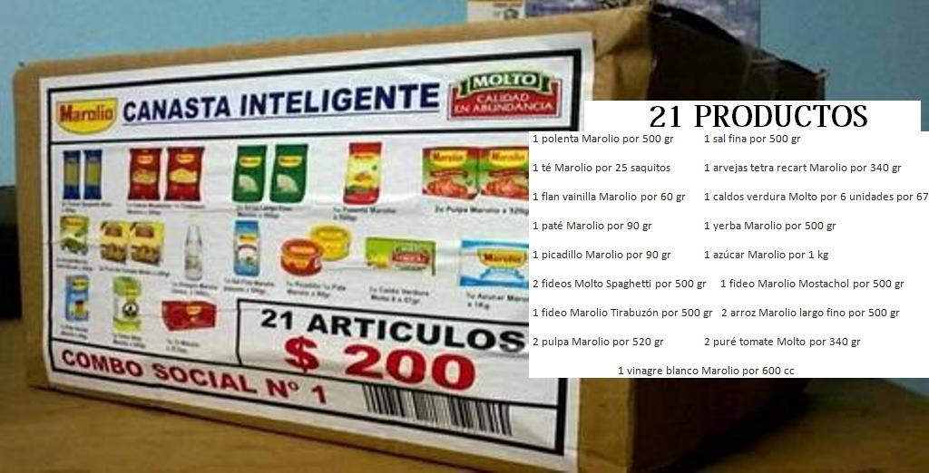 """Nuevos productos de la canasta """"Areco ahorra"""""""