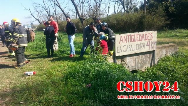 Accidente RN Nº 8 - Foto: CSHoy 24
