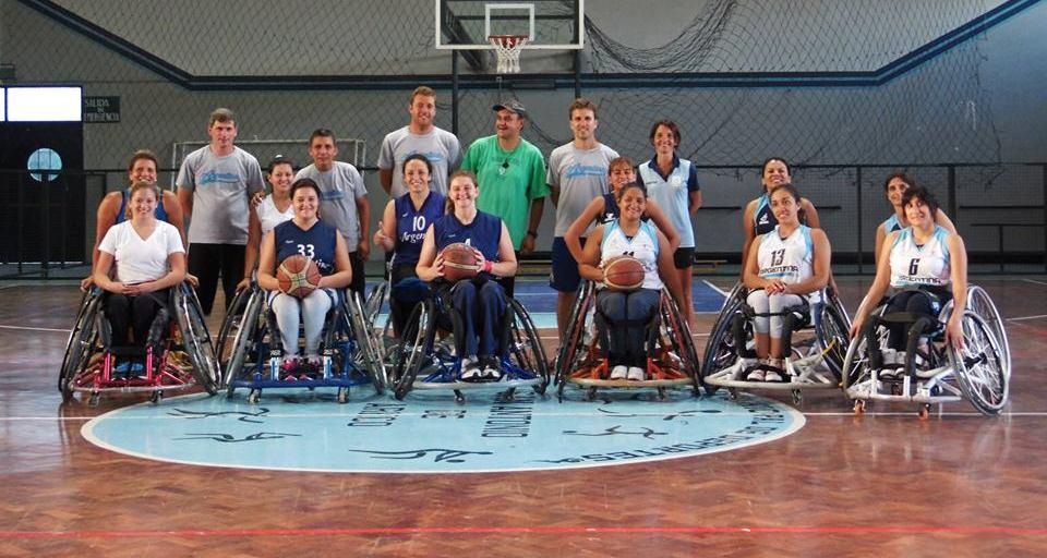 Seleccionado de Basquet Femenino sobre silla de ruedas