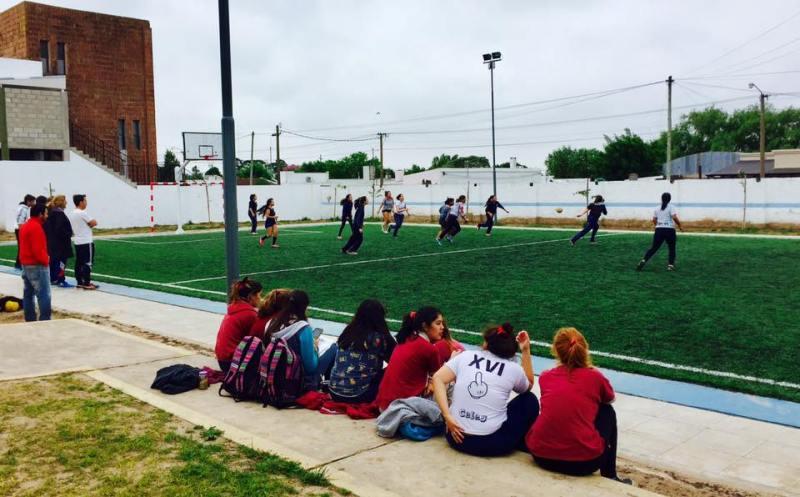 Interescolar de Fútbol reducido femenino