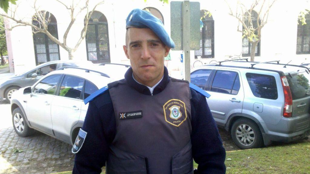Oficial Juan Pablo Gasparini