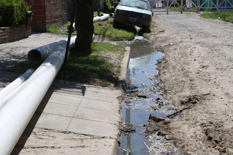Avanzan las mejoras en el Barrio Municipal