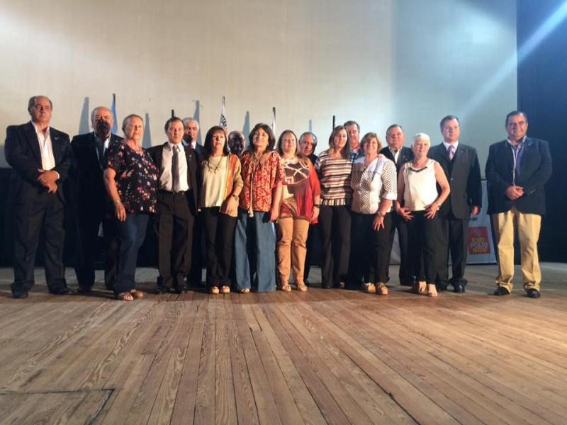 Miembros del Rotary Club