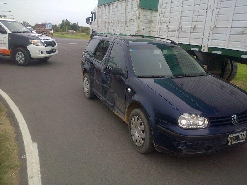 Accidente en Ruta 41 y Acceso Durán