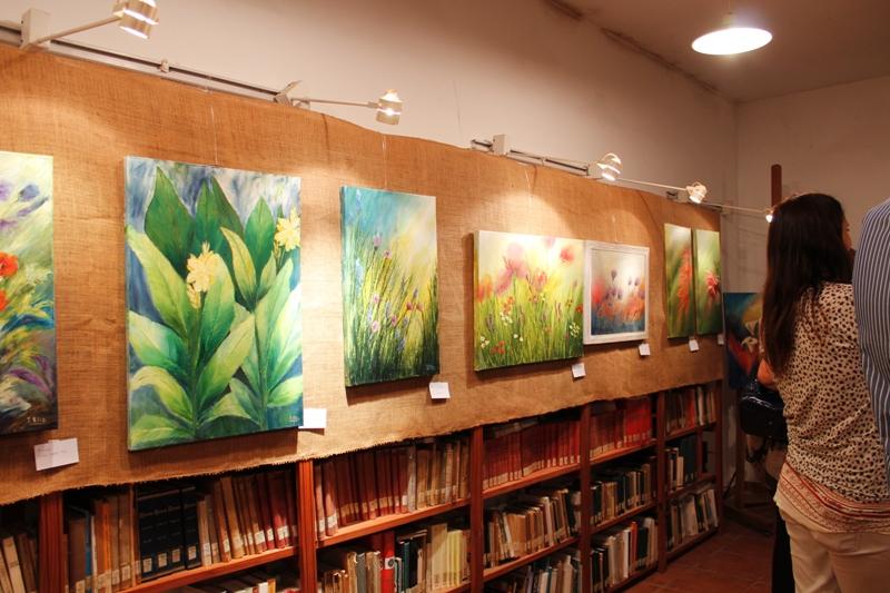 Exposición de obras de Isabel Elía