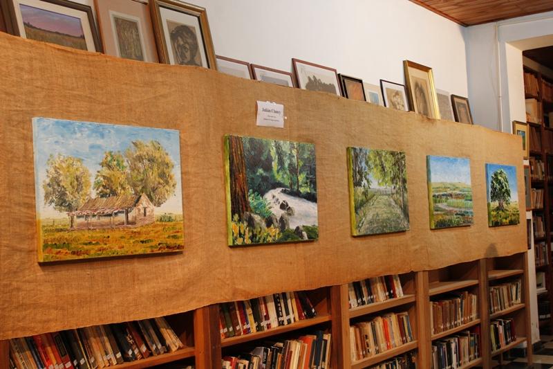Exposición de obras de Julián Clancy