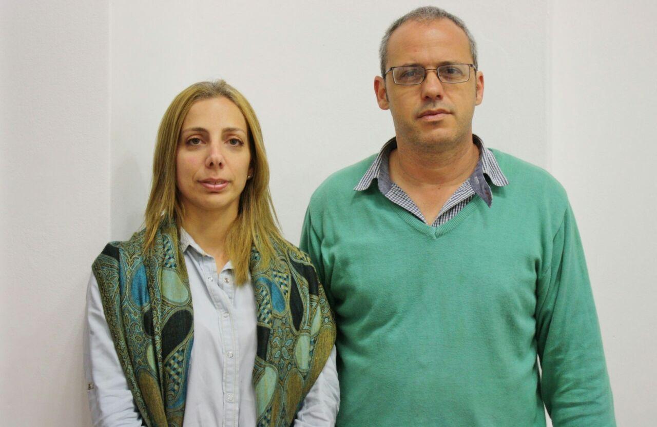 Dra. Rosario San Martín y Dr. Juan Riera