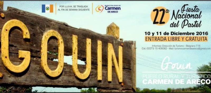 22° Fiesta Nacional del Pastel en Gouin