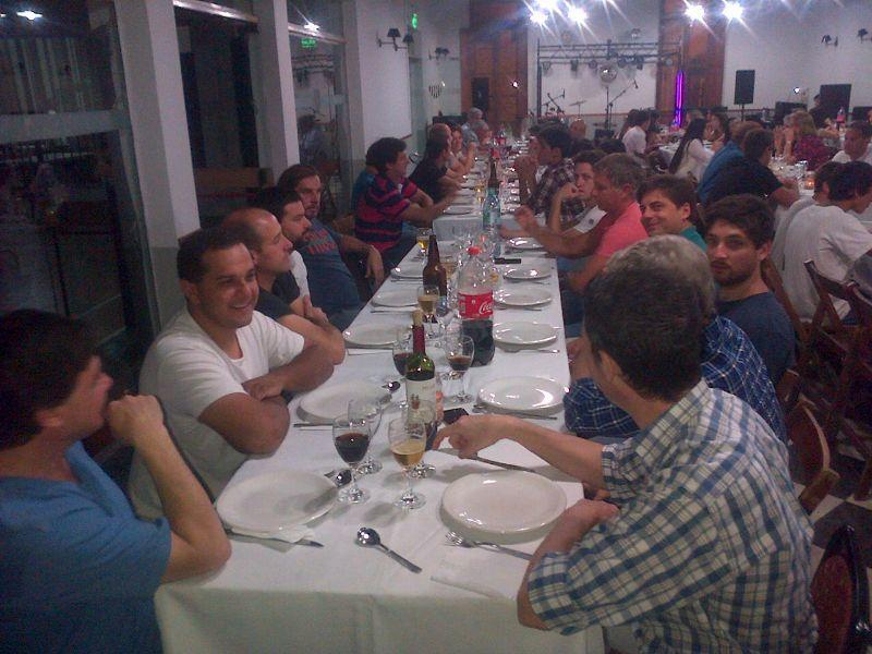 Cena de fin de año del Club Tempestad