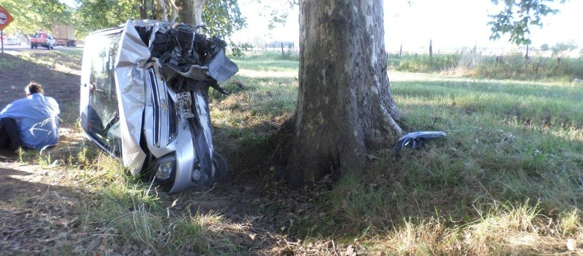 Chevrolet Onix, tras el terrible impacto