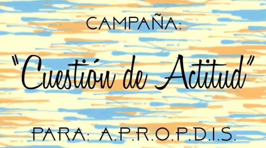 """Campaña """"Cuestión de Actitud"""" para A.P.R.O.P.D.I.S"""