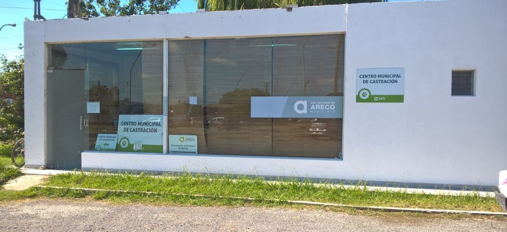 Nueva oficina de Zoonosis Municipal - Av. Smith entre Guido y Azcuénaga