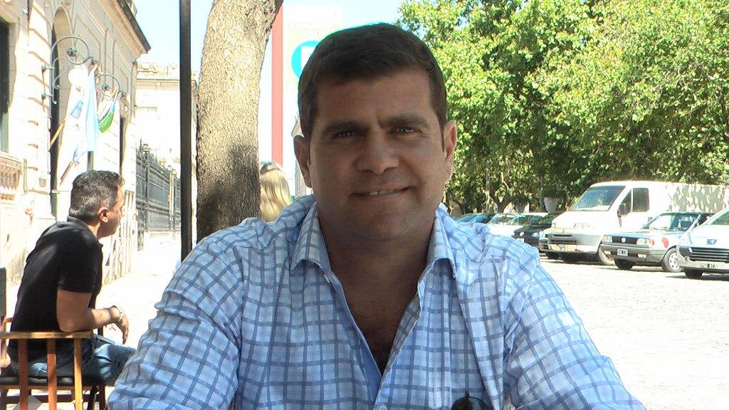 """Leonardo """"Nano"""" Perea - Presidente de la UCR local"""