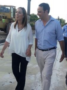 María Eugenia Vidal y Francisco Ratto